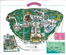 Disneyland Anaheim Monorail Map