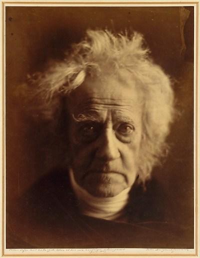 portrait of Sir John Herschel