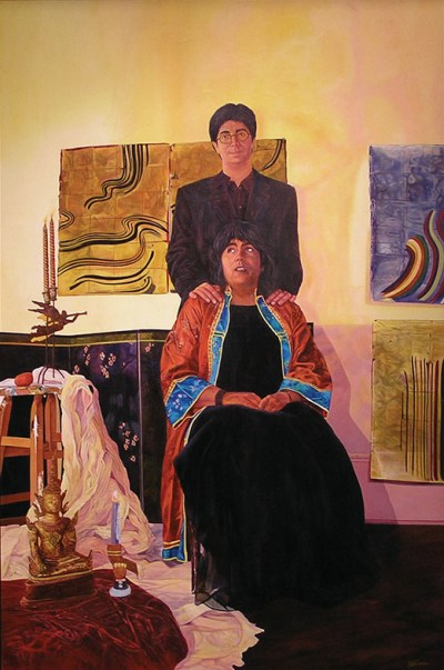 Lenore_Chinn_6_Before-the-Wedding_2000_AcrylicOnCanvas