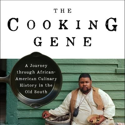 book cover of THE COOKING GENE