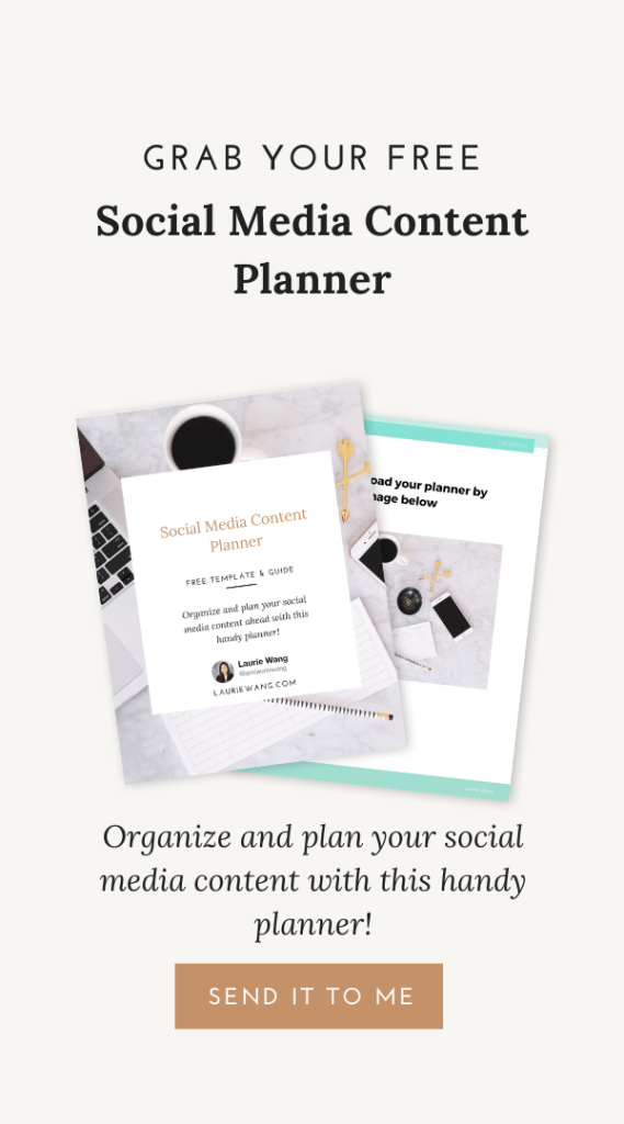 Free social media content planner
