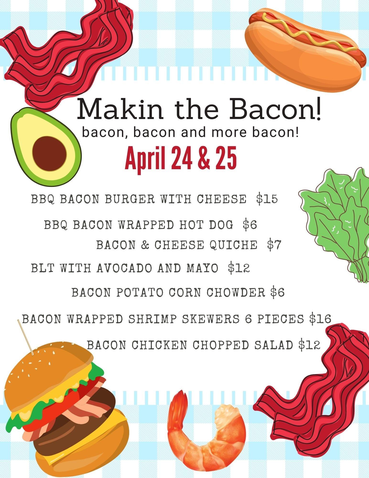 makin the bacon