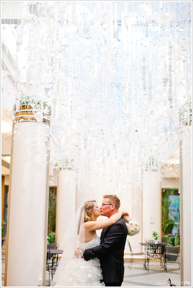 Shelly Lances Franklin Park Conservatory Wedding
