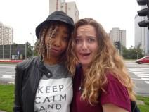 Khumo and I