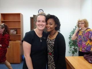 Rachel and Siostra Lerch