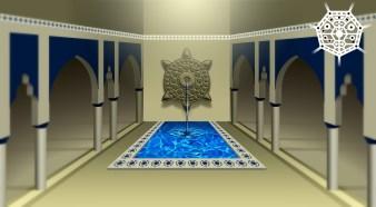 3D apolares vetor palacio central final