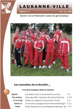 Journal 2009 – Octobre