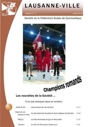 Journal 2012 – Juillet