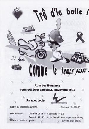 Soirée 2004