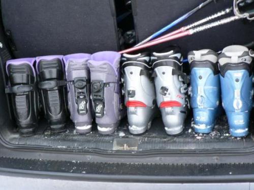 2006 – Week-end à ski des Actifs aux Marécottes