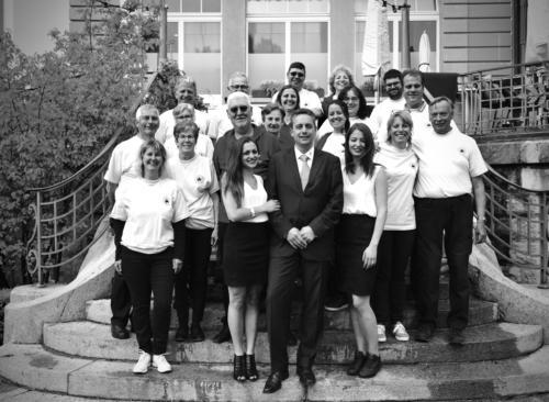 2019 - Assemblée de l'Union Fédérale des Gymnastes Vétérans, groupe vaudois ¦ Comité d'organisation (28 avril)