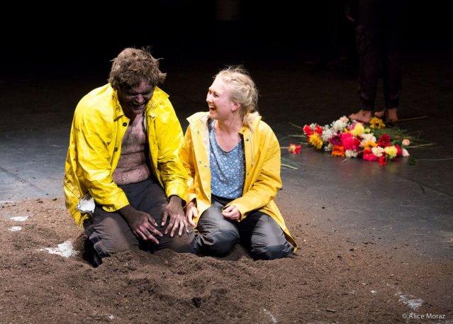 ©Alice Moraz - 'Shakespeare zwischen den Zeilen,' HKB Theater 2.