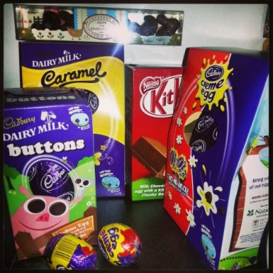 Easter Egg haul