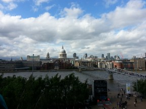 View of St Paul's from The Tate Modern