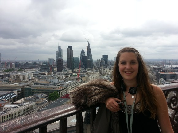 Becca, the City and the Gherkin from the Golden Gallery