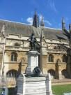 Cromwell statue outside the Houses of Parliament