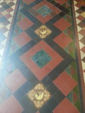 Gorgeous tiles in St Patrick's Cathedral
