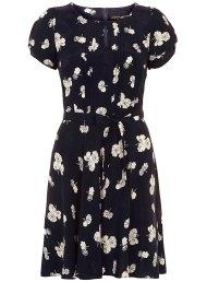 navy tea dress
