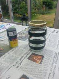 Pre spray paint