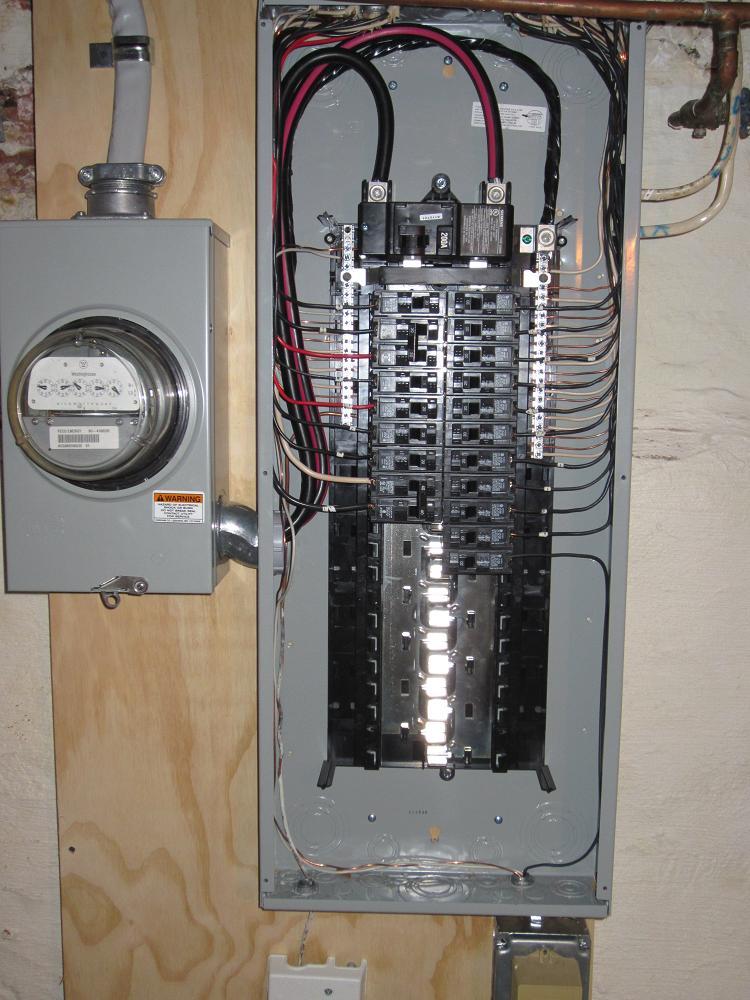 Electrical Panel Wiring