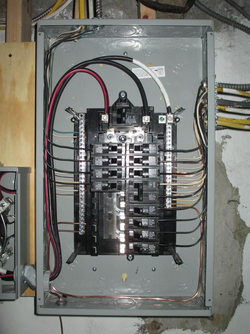 hight resolution of wiring a 100 amp service panel wiring diagram today ground wire 100 amp service panel port