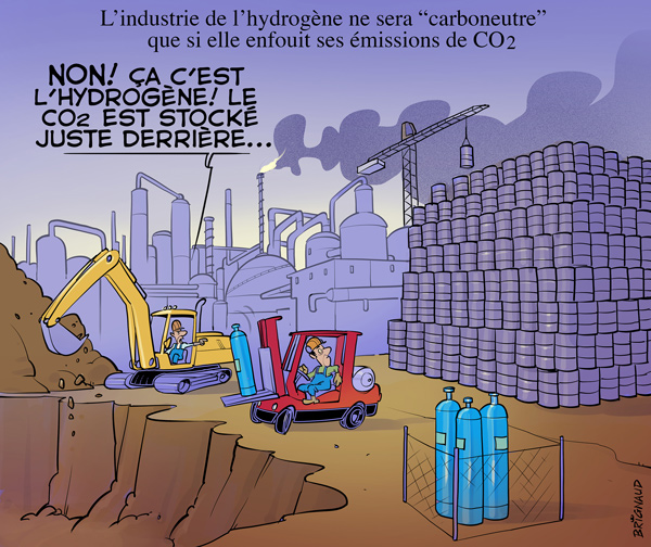 L'hydrogène au Canada : un nouveau mythe en couleur | L'aut'journal