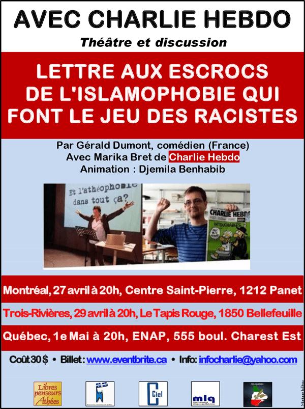 Lettre Aux Escrocs De L'islamophobie Qui Font Le Jeu Des Racistes : lettre, escrocs, l'islamophobie, racistes, Lettre, Escrocs, L'islamophobie, Racistes, 'aut'journal
