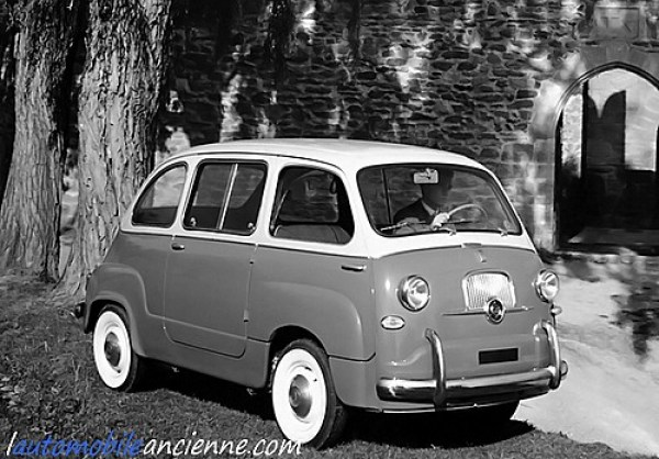 fiat 600 multipla 1956 1965 l 39 automobile ancienne. Black Bedroom Furniture Sets. Home Design Ideas