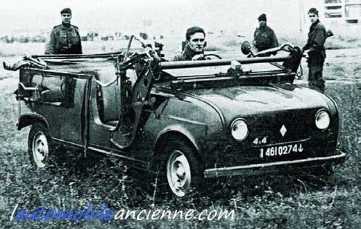 renault 4 sinpar commando marine l 39 automobile ancienne. Black Bedroom Furniture Sets. Home Design Ideas