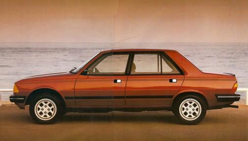 peugeot 305 gtx 1984 1987 l 39 automobile ancienne. Black Bedroom Furniture Sets. Home Design Ideas