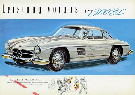 mercedes 300sl w198 1954 1963 l 39 automobile ancienne. Black Bedroom Furniture Sets. Home Design Ideas