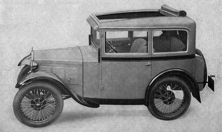 BMW 3/15 (1929-1932)   l'automobile ancienne