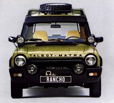 matra rancho grand raid 1980 1981 l 39 automobile ancienne. Black Bedroom Furniture Sets. Home Design Ideas