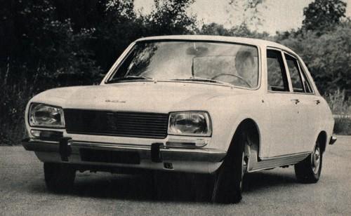 peugeot 504 (1968-1983)   l'automobile ancienne