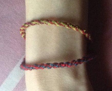 bracelet de l'amitié brésilien