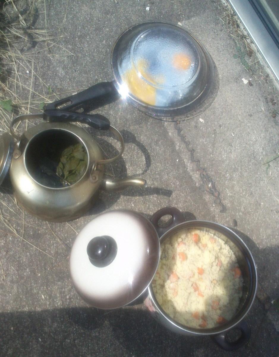 Cuisine au soleil