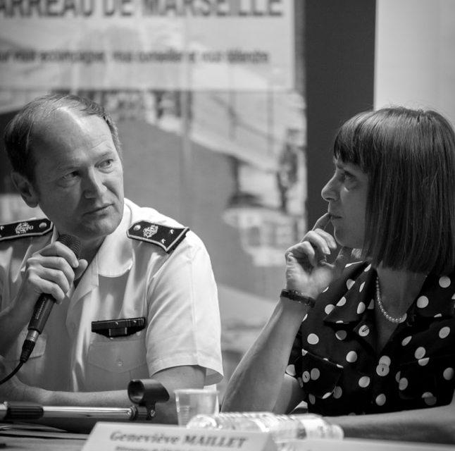 GENEVIEVE MAILLET PREMIERE FEMME BATONNIER DE MARSEILLE ET  LE POLE MARITIME DE MARSEILLE