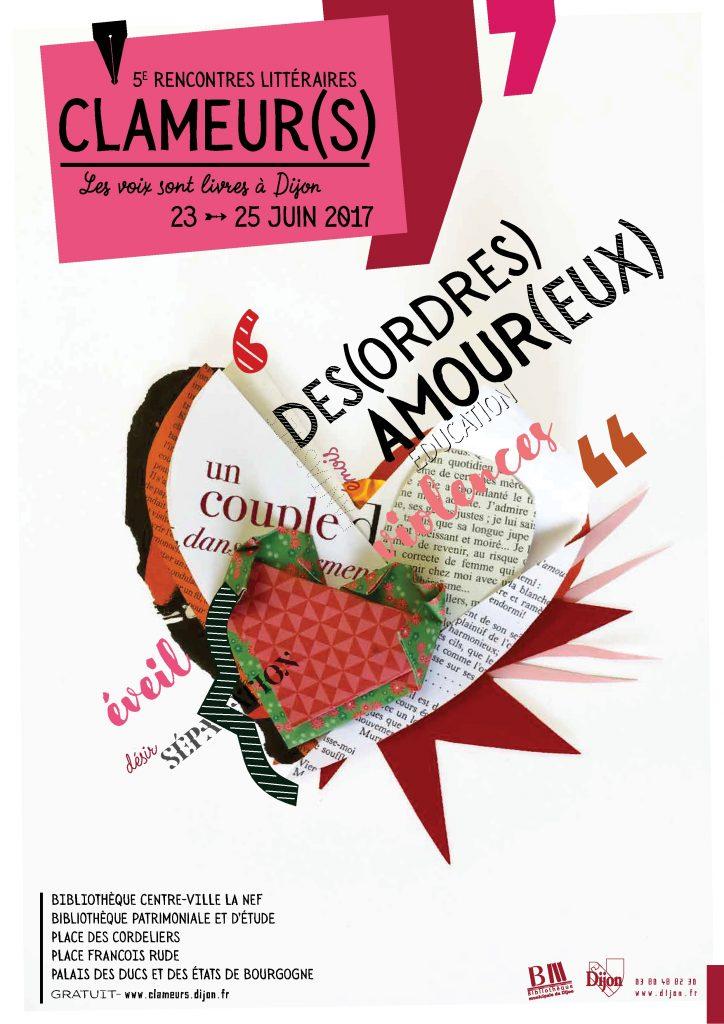 Cabaret littéraire au festival Clameur 2017