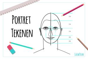 Portret tekenen voor beginners
