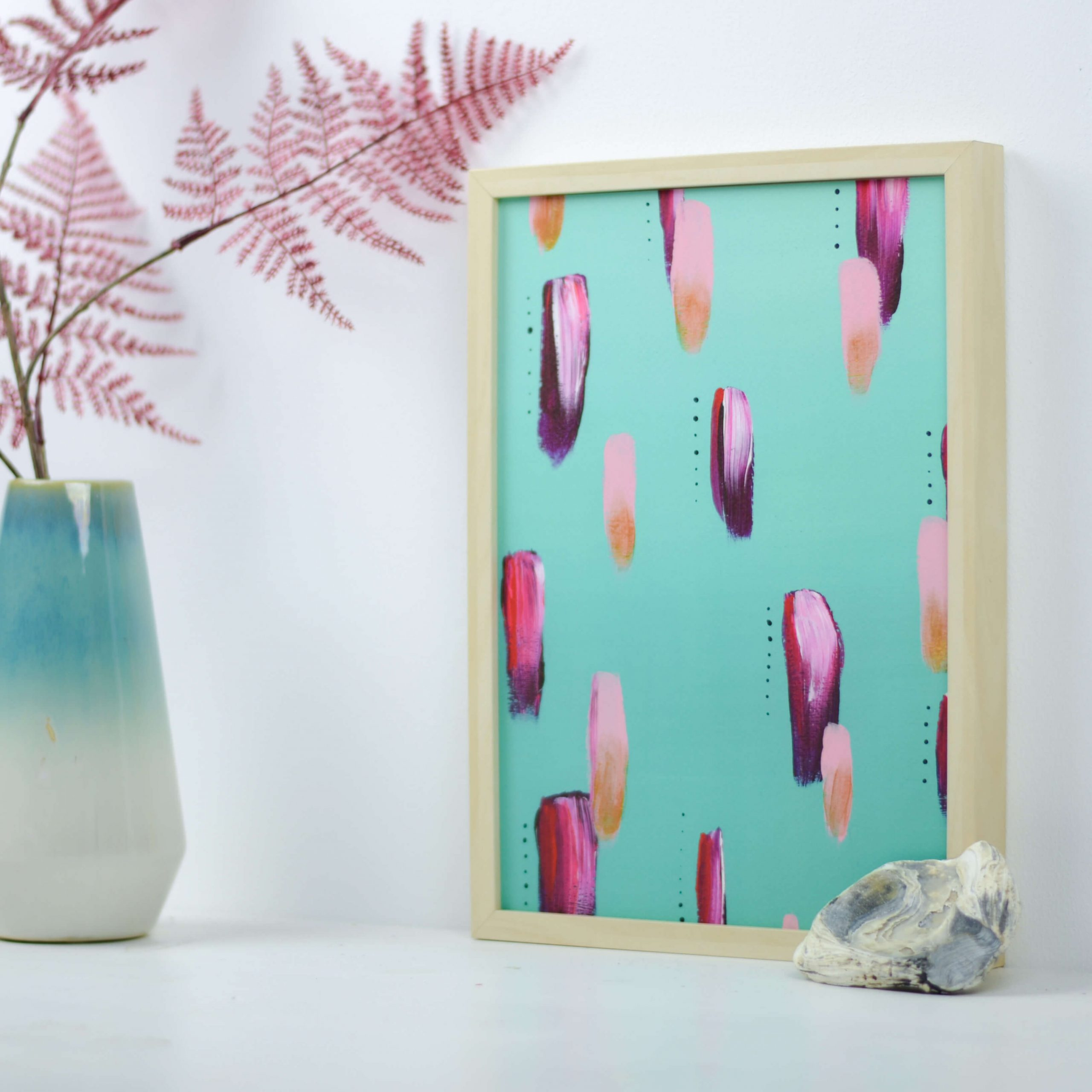 Our Perfect World Is A Place On Earth – A4 kunstprint