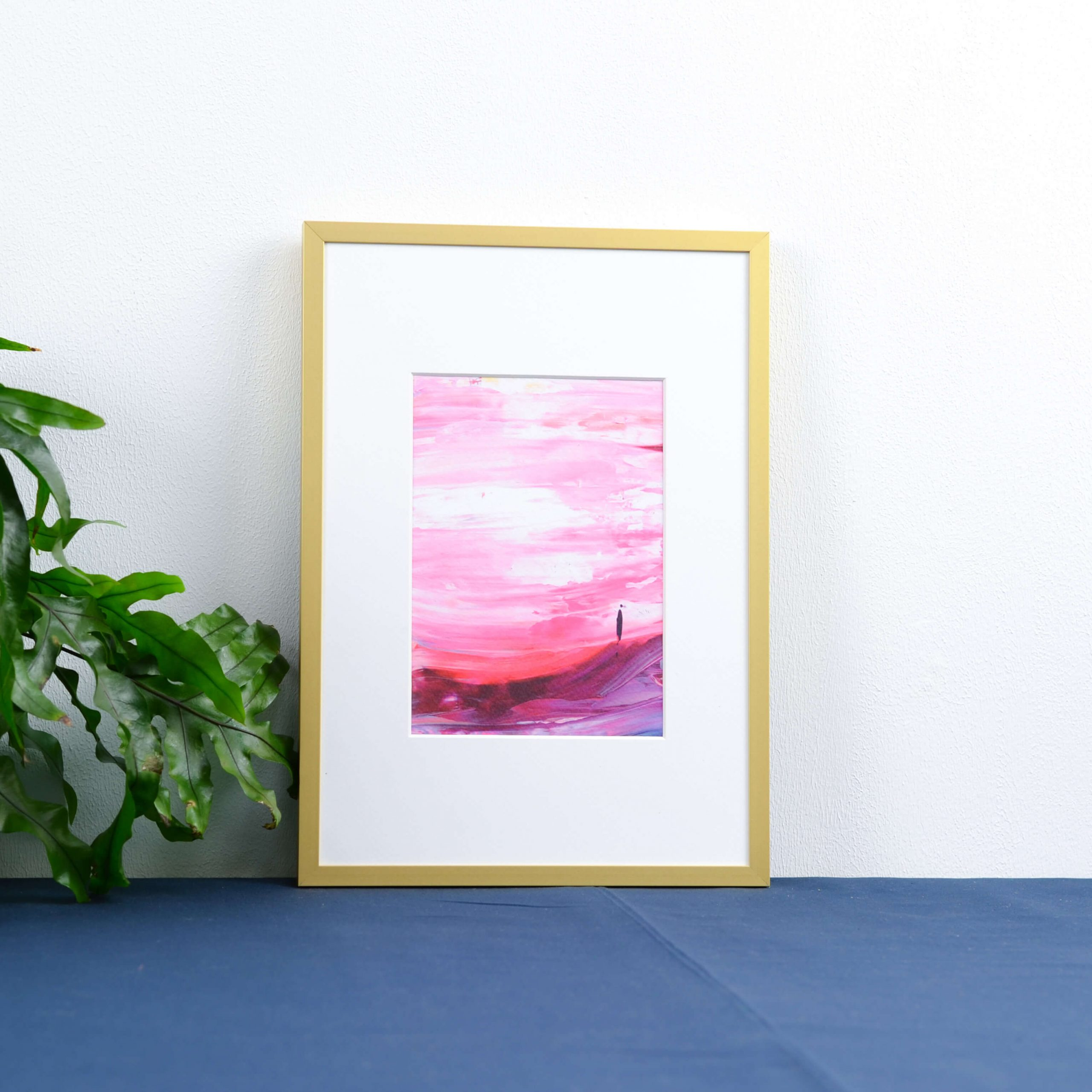 Thunder In the Air- (roze) A5 kunstprint