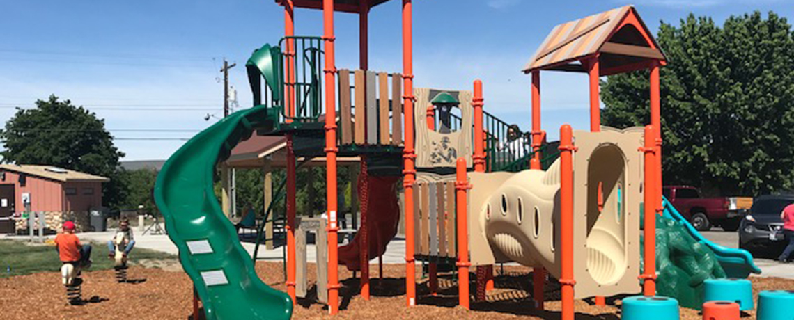 Supporting Community Parks and Playgrounds