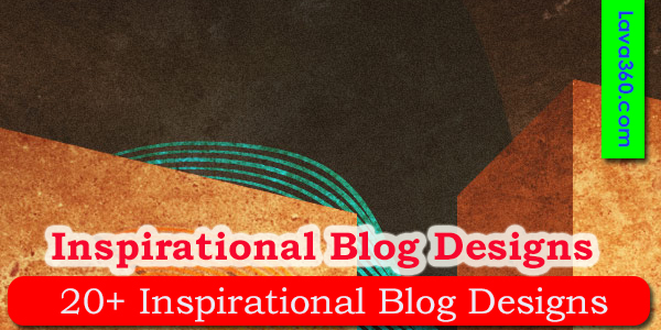 15 Inspirational Blog Designs