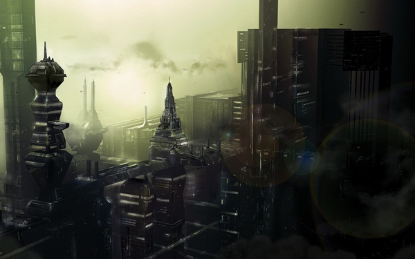Breathtaking Future City Concept Art (2)