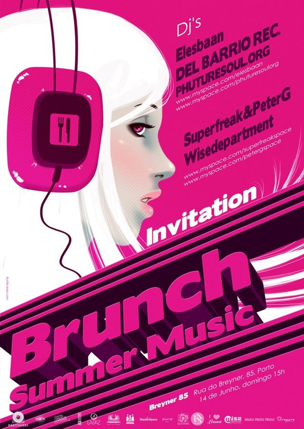 Amazing Party Poster Designs9
