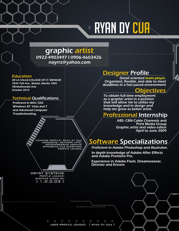 Creative resume ideas14