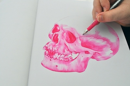 Ballpoint Pen Drawings & Sketches (1)