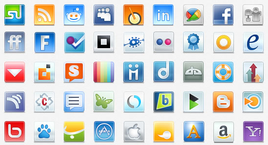 Free & Exclusive Social Media Icons