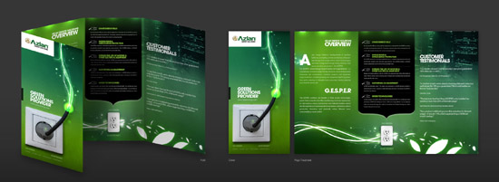 30 Inspirational & Professional Brochure Designs