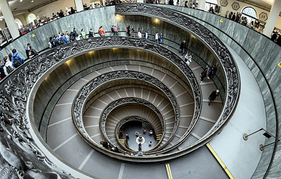 Vatican Museums Spiral Staircase